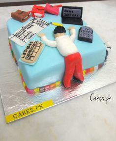 A fun filled Chartered Accountant themed cake for your loved one. Colors can be altered. This cake is surely to take the limelight. Everything on the cake is totally edible and hand-crafted. …