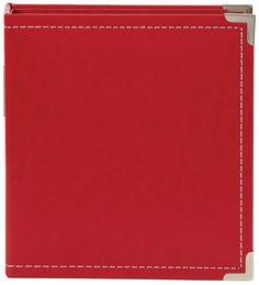 """Kožený SN@P Album 6x8"""" / červený"""