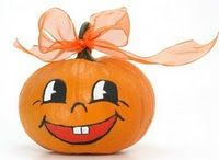 10 Enchantingly Easy Pumpkin Designs - - Looking for ideas for decorating your pumpkins for Halloween? Here are some enchantingly easy Halloween…. Pumpkin Face Paint, Pumpkin Art, Cute Pumpkin, Baby In Pumpkin, Little Pumpkin, Pumpkin Carving, Pumpkin Painting, Easy Pumpkin Faces, Easy Pumpkin Designs