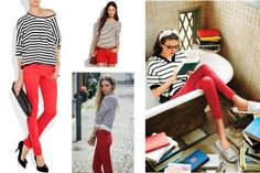Love the red pants! :)