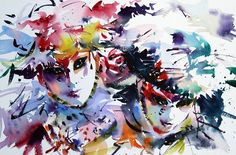 Original watercolours by Jake Winkle. Winkle Art is based in Dorset and offers exciting watercolours for sale by prominent UK artist Jake Winkle. Venice Carnivale, Venice Mask, Watercolor Pencils, Watercolour Painting, Watercolours, Venetian Carnival Masks, Masquerade, Amazing Art, Wildlife