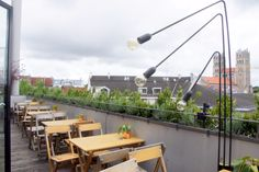The Flushing Meadows Rooftop Bar in München