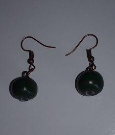 """Ohrringe """"dark green"""" – Claudia´s Accessoires Drop Earrings, Dark, Gifts, Jewelry, Stud Earrings, Ear Rings, Schmuck, Presents, Jewlery"""