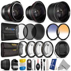 PRO+ HD Fisheye Lens & Filter Set Kit for Canon EOS Rebel http://www.ebay.com/itm/231129216797