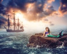 Premium Photography & Photoshop Education and Editing Tools Fantasy Photography, Photography Lessons, Photoshop Photography, Creative Photography, Photography Ideas, Whimsical Photography, Mermaid Photo Shoot, Mermaid Pictures, Mermaid Pics