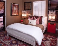 Eclectic Bedroom Guest Bedroom Design, Pictures, Remodel, Decor and Ideas - page 20