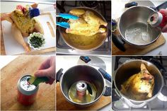 Beer Can Chicken - Steam Roasted whole!   hip pressure cooking - pressure cooker recipes & tips!