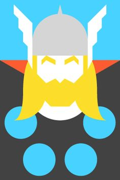 Forma & Co — Re-Vision — Pop Culture Icons — Thor