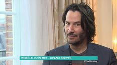 Alison Hammond quizzes Keanu Reeves about his Essex roots, but the actor then hilariously reveals that he was actually born in Beirut.