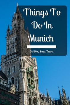 Looking for things to do in Munich? I take a look at some of the best activities and things to see during a first-time visit!