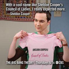 The Big Bang Theory - Sheldon though… Big Bang Theory Quotes, Big Bang Theory Funny, Sheldon Cooper Quotes, The Big Band Theory, Jim Parsons, Por Tv, Music Tv, Cool Names, Best Shows Ever