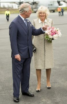Prince Charles, Prince of Wales and Camilla, Duchess of Cornwall arrive at Halifax airport at the start of the Royal Tour, 18.05.2014 in Halifax, Canada. The Prince of Wales and Duchess of Cornwall are on a four day visit to Canada