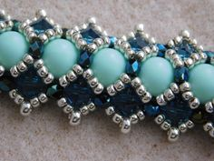 Beaded Bracelet Tutorial Pattern Instructions Beadweaving