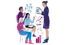 Find out what drew these women into the finance and the lessons they share with young women.