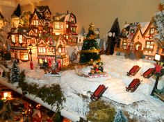 Christmas Village Ideas | The Christmas villages allow me to dream big! Merry Christmas to all ...