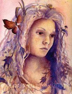 Self portrait by Lizz Robertson Klaras  on ARTwanted LK Custom Creations on Facebook www.LizzKlaras.showitsite.com