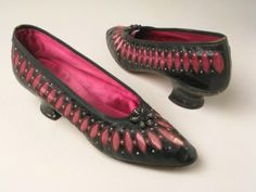 Shoes ca. 1890-1900 via Manchester City Galleries