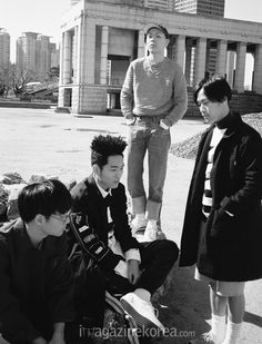 2015.07, Harper's Bazaar, hyukoh, Im Hyun Je, Lee In Woo, Oh Hyuk, Im Dong Gun
