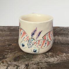 Erin Paisley:  Tiger Lily Moth Mug