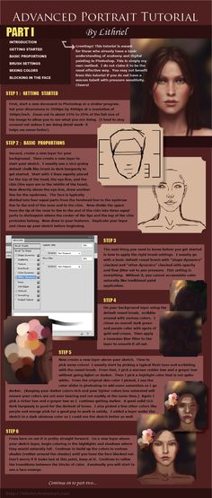 Digital Painting Tutorial Pt I by `lithriel on deviantART