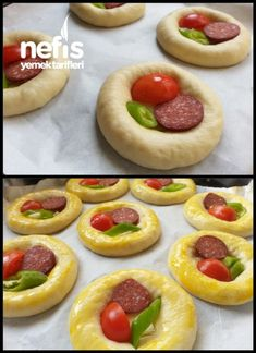 Squishy Pizza Pastry (Patisserie-Rezept) – Köstliche Rezepte - My CMS Donut Recipes, Pastry Recipes, Cake Recipes, Dessert Recipes, Cooking Recipes, Desserts, Pizza Food Truck, Pizza Pastry, Best Bakery