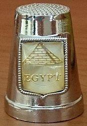 Stříbrný náprstek • Egypt