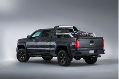 Chevy Silverado Black Ops Concept Is The Perfect Vehicle For The Zombie Apocalypse