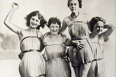 These wooden bathing suits, made in 1929, were supposed to make the wearer more buoyant. Since the suits are no longer around for purchase, they must not have done a good job of keeping people afloat.