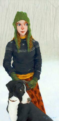 Fred Calleri, 1964 ~ Figurative painter