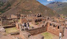 Pisac ruins in the Sacred Valley, Peru