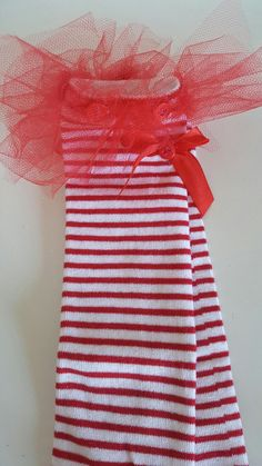 Baby Girl Knee High Socks Toddler Infant Boutique Valentines Day Candy Stripe Socks Holiday Wear Dress Adorable! by CuteAsAButtonForAll on Etsy