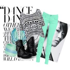 Kpop fashion inspired by BoA by Polyvore