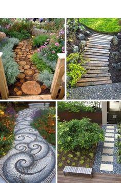 LOVE the Walkway in the upper left corner!