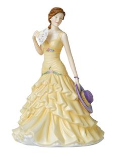 Royal Doulton Pretty Ladies Figurines are perfect for presents, collectors, or just something to make you smile! They are made from fine bone china & are hand painted to perfection. Come on in at a Royal Doulton Store near you and find the one that makes you smile inside.