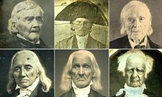 Faces of the American revolution: Amazing early photographs which document some of the heroes of the War for Independence in their later years | Daily Mail Online