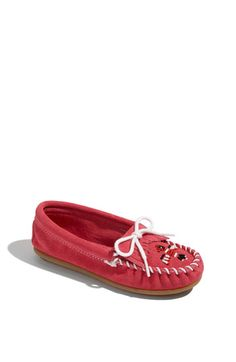 Minnetonka 'Thunderbird' Moccasin (Toddler, Little Kid & Big Kid) available at Nordstrom