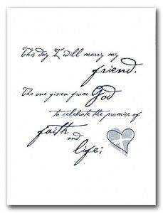 Christian wording for wedding invitations - The Wedding Specialists