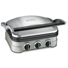 Cuisinart Griddler Countertop Grill-GR-4N at The Home Depot