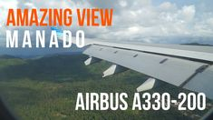 AMAZING VIEW | AIRBUS A330-200 SMOOTH LANDING AT MANADO