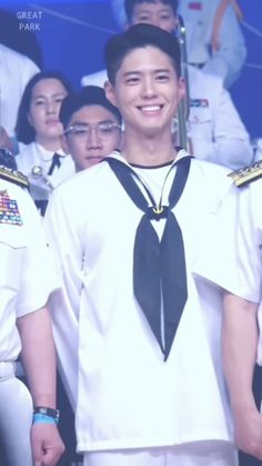 Bo Gum, Chef Jackets, Navy, Coat, People, Dresses, Fashion, Youth, Souvenirs