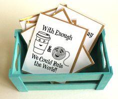 Crochet Greeting Cards  5 Card Set  Birthday by alittleknittyjen