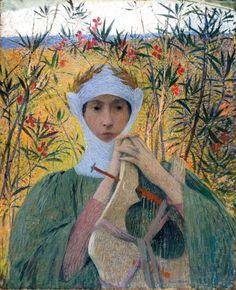 Clemence Isaure - Henri Martin 1895