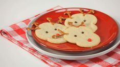 These fun and simple sugar cookies are the perfect treat for Santa.
