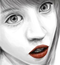 Some girl i drew from Tumblr
