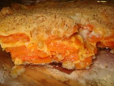 Cheesey Scalloped Carrots...yum