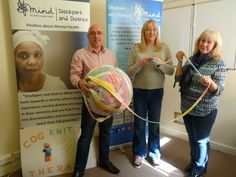 Cognitive Therapy group produce 300+ metres of knitting to raise mental health awareness - Stockport & District Mind http://www.stockportmind.org.uk/2017/03/cogknitive-therapy-campaign-raises-awareness/?utm_campaign=crowdfire&utm_content=crowdfire&utm_medium=social&utm_source=pinterest