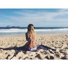 Fotos na areia