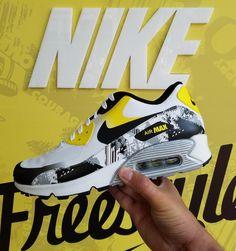 45f9b9c6f28 Nike air max shoes Cancer survivor edition