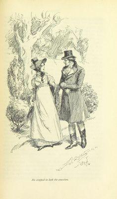 Jane Austen Novel Illustrations
