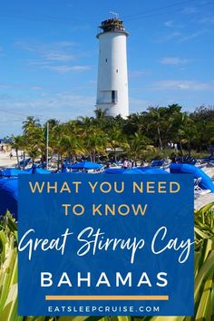 Do you have a cruise heading to Norwegian Cruise Line's private island of Great Stirrup Cay? If so, then this guide to everything you need to know about the newly updated Great Stirrup Cay, Bahamas is for you. Whether this is your first time visiting or not, you'll find our review of excursions and photos helpful as you plan your day at Great Stirrup Cay. Check it out and start dreaming today! #Bahamas #BahamasCruise #GreatStirrupCay #NorwegianCruiseLine #NCL #CruiseVacation